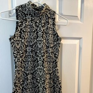 Primark XS High Neck Printed Dress